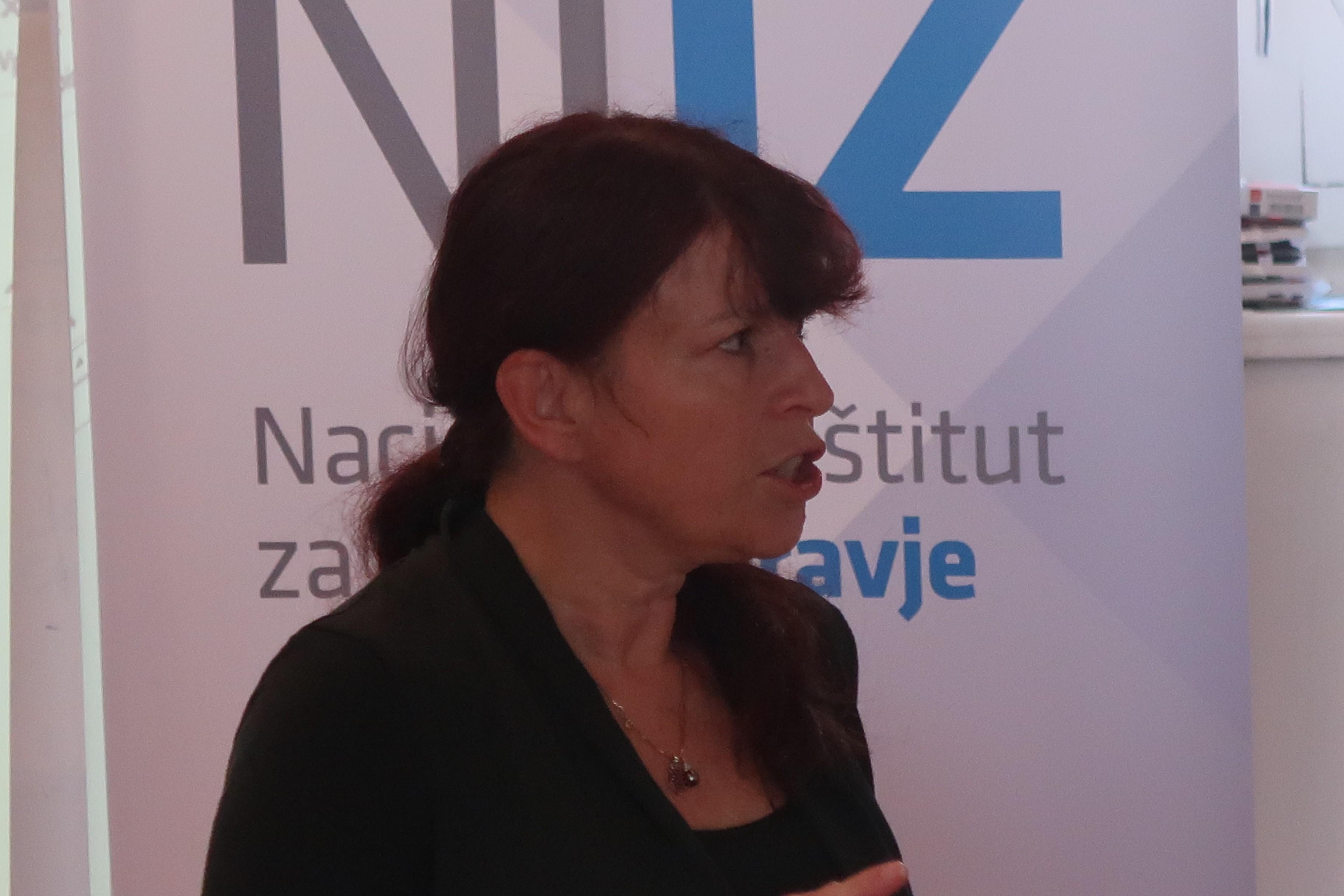 Vesna Petrič, Ministry of Health Slovenia