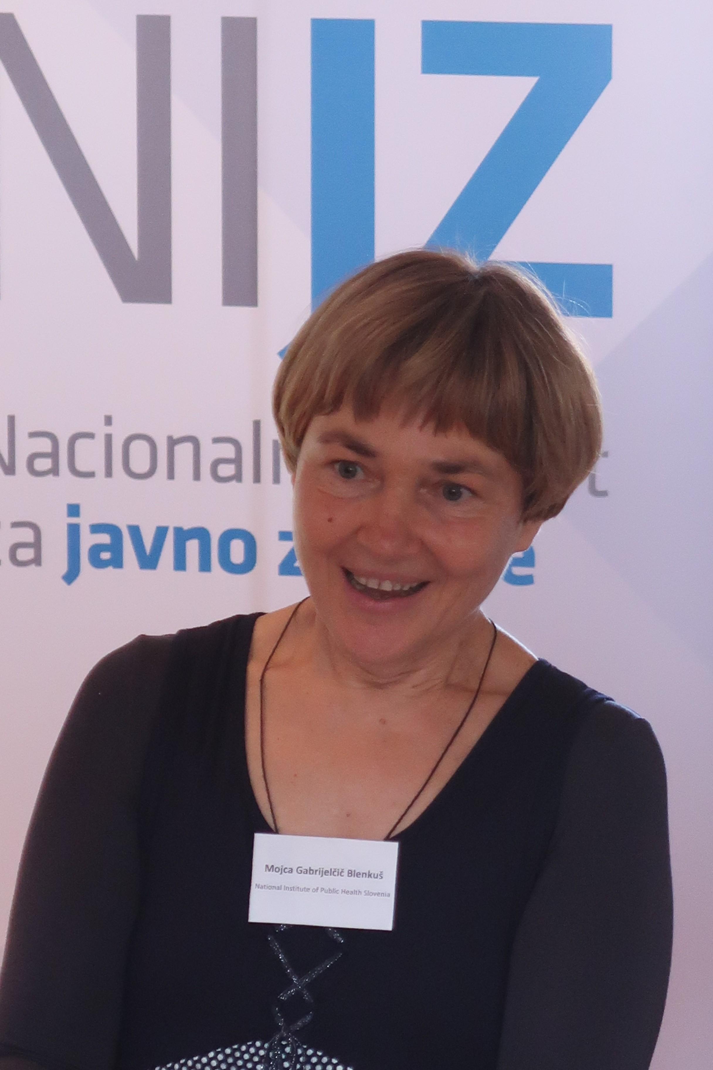 Dr. Mojca Gabrijelčič, NIJZ – National Institute of Public Health Slovenia